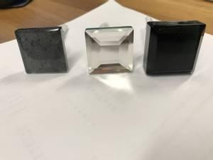 Bilde av Glassknotter firkantet