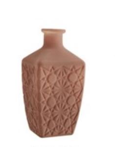 Bilde av Glass vase, nude farget