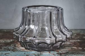 Bilde av Vase m riller grå 24x13,5cm