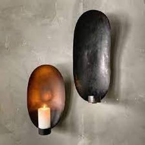 Bilde av Lysholder for vegg, oval