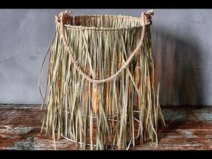 Bilde av Bambuslykt gress 24x30cm