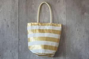 Bilde av Bag med gullstriper