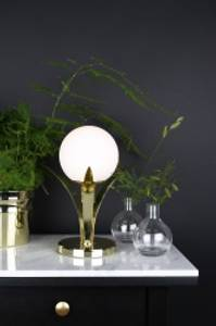 Bilde av Bordlampe Savoy Messing