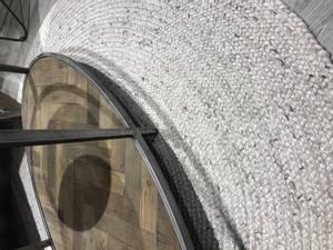Bilde av Eden Melert grå gulvteppe