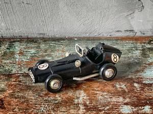 Bilde av Racerbil metall sort S 11x5