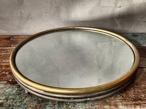 Bilde av Metallfat m speil d 40 cm