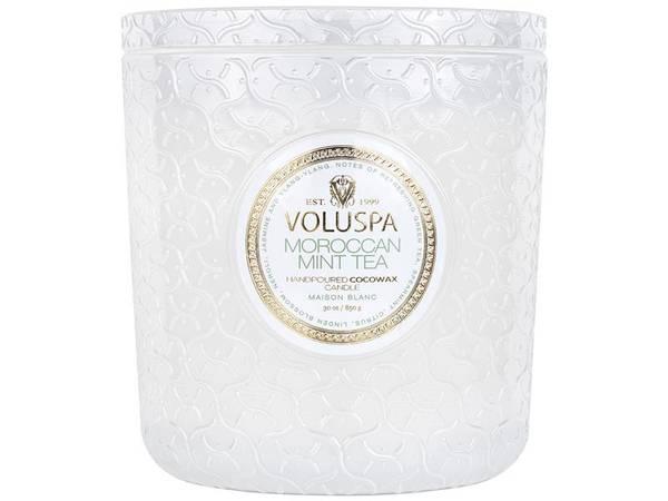 Voluspa - Moroccan mint tea lux jar