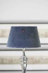 Bilde av VELVET LAMPSHADE CLAMS GREY