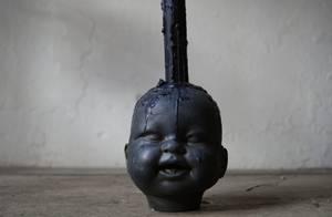 Bilde av Baby Doll head lysestake