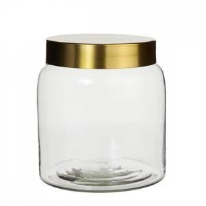 Bilde av Syrin Glassboks m/lokk i gull