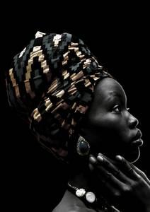 Bilde av CANVAS AFRICAN JEWEL 100X150