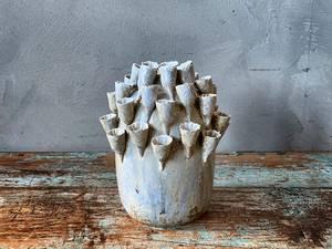 Bilde av Keramikkvase korall H:16cm