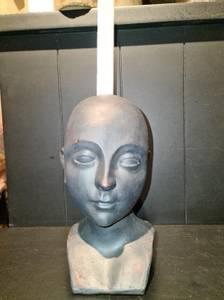 Bilde av Lysestake Lady bust