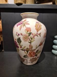 Bilde av Vase m/blomstermotiv