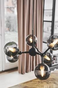 Bilde av Atom lysekrone smokey glass