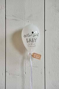 Bilde av Hello Sweet Baby Balloon