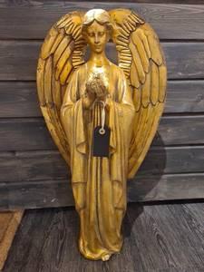 Bilde av Stor engel med due i