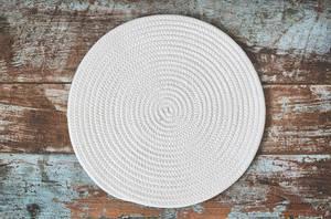 Bilde av Spisebrikke rund bomull