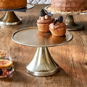 Bilde av JOHNSEN CAKE STAND SOFT GOLD