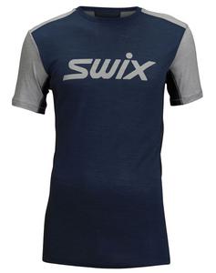 Bilde av SWIX MOTION TECH WOOL T-SKJORTE HERRE ESTATE BLUE