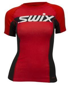Bilde av SWIX RACEX CARBON T-SKJORTE DAME FIERY RED