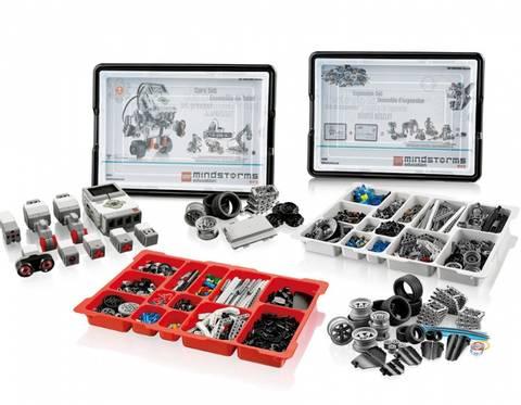 Bilde av LEGO®MINDSTORMS®Education EV3 med utvidelsessett (til 10 elever)