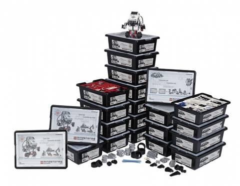 Bilde av LEGO®MINDSTORMS®Education EV3 med utvidelsessett (til 30 elever)