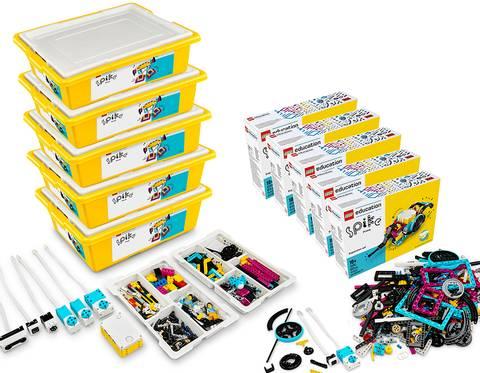 Bilde av  LEGO® Education SPIKE™ Prime med utvidelsessett (10 elever)