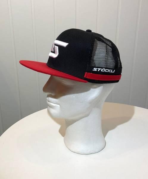 Stöckli Caps Unisex Black-Red-White