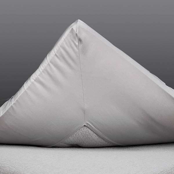 Gant konvoluttlaken grå 90x200x8-10 cm