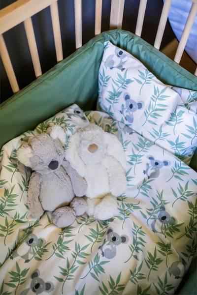 Koala sengesett baby 65x80cm