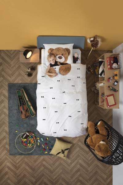 Snurk sengesett bamse 140x200cm