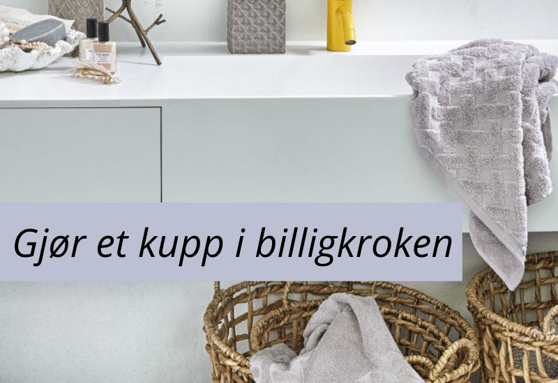 Salg sengesett og håndklær i høy kvalitet Gant Turiform Borås Cotton Høie