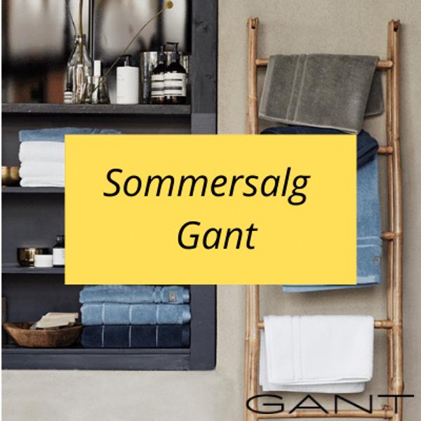 Salg på Gant håndkler og Gant sengesett