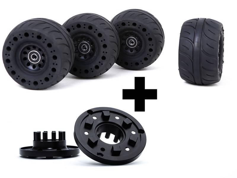 Bilde av 115mm Rubber wheels