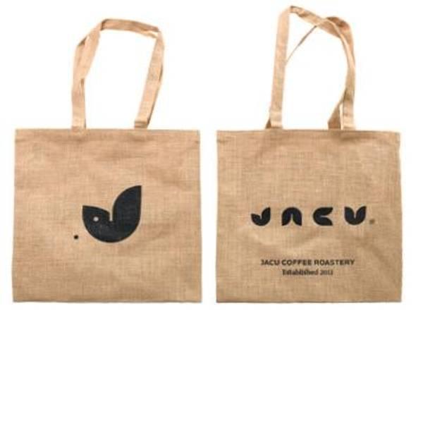 Bilde av Jutebag med Jacu logo