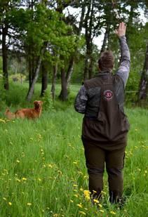 Dog-Sports Light Vest brun