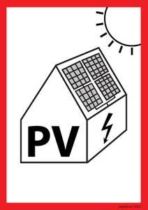 Bilde av PV Solcelleskilt A6