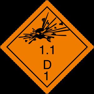Bilde av G1-1 Eksplosjonsfare