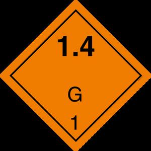 Bilde av G1-2 Eksplosjonsfare