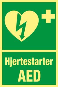 Bilde av Hjertestarter AED (20 x 30 cm)