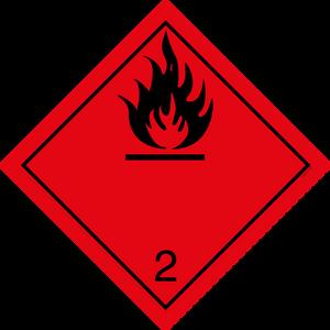 Bilde av G2-1 Brannfarlig gass