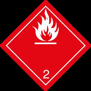 Bilde av G2-2 Brannfarlig gass