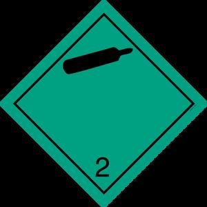 Bilde av G2-3 Gass, ikke brannfarlig, ikke giftig