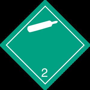 Bilde av G2-4 Gass, ikke brannfarlig, ikke giftig