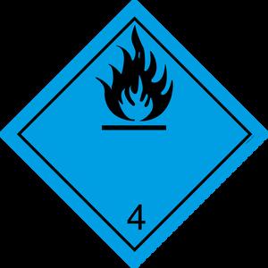Bilde av G4-3 Fare for utvikling av brannfarlige gasser i