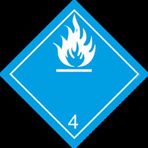 Bilde av G4-4 Fare for utvikling av brannfarlige gasser i
