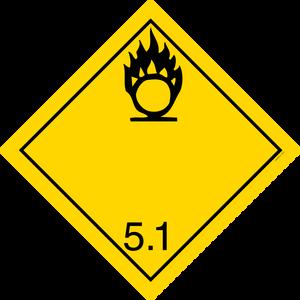 Bilde av G5-1 Oksiderende stoff, fare for intensivering av