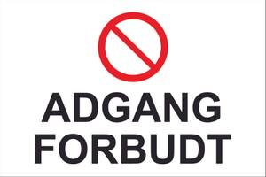 Bilde av Adgang Forbudt