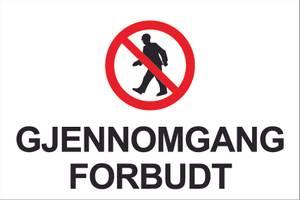 Bilde av Gjennomgang Forbudt